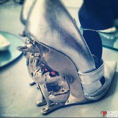 Greyhound Shoes, dog lover shoes, italian greyhound shoes, italian greyhound, greyhound shoes, alain quilici, david jorma, boots, heels, runway, fashion week, nyc, fashion, avant garde