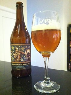 """Cask 75 Minute IPA, 7.5% abv. I need to find this...""""A blend of their 60 Minute & 90 Minute IPAs, dry-hopped w/ whole-leaf Cascades & bottle conditioned with maple syrup.  The result?  A complex, well-balanced beer that will appeal to both IPA fans & non-believers alike.  The sweetness of the maple syrup  complements and mellows out the hops.  If you're looking for something sweeter or just an interesting twist on the standard IPA, this is it."""""""