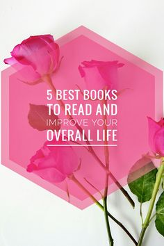 Here are 5 best books to read to improve your life. These are some books that I've read that have made a huge impact in my life. Best Books To Read, Great Books, My Books, Reading Books, Reading Lists, Life Changing Books, Inspirational Books, Change, Best Self