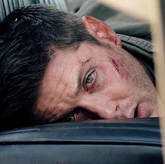 """[GIF] Dean Winchester ... poor baby ♥╭╮♥ #Supernatural 11x04 """"Baby"""" #Dean #Impala"""