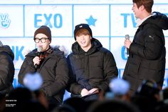 BTS - Jimin, Jungkook and Jin