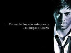 Enrique Iglesias ~ Wish You Were Here (With Me) lyrics
