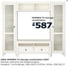 HEMNES TV Storage IKEA