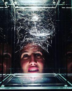 My girl gazing at spiderweb spindles #architectureoflife #latergram by blairsackett