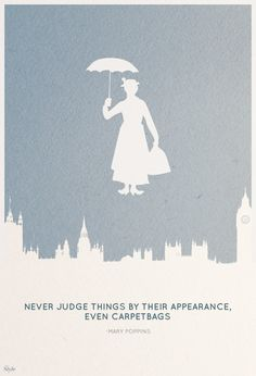 You would have never known that Mary Poppins was practically perfect in every way!