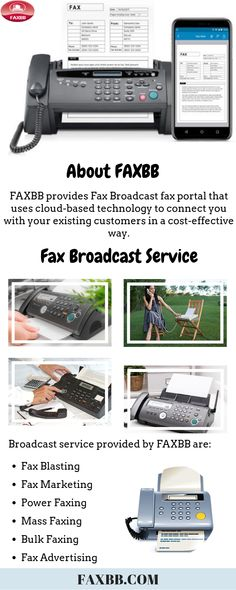 Fax Broadcasting is a great and efficient tool to advertise your business across the world. It is easy to use that can blast millions of faxes in minutes. FAXBB is one of the best fax broadcasting service providers across Canada and USA. Advertising Tools, Marketing Approach, Existing Customer, Advertise Your Business, Create Awareness, Cloud Based, Canada, Technology, Usa