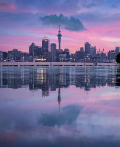 Sunsets and Reflections, Auckland New Zealand Image, New Zealand Landscape, Auckland New Zealand, Canada Images, City Photography, Photography Ideas, Travel Around The World, Wonderful Places, Turismo