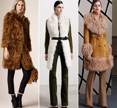 Pre Fall 2015 Fashion Trends Fur Coats