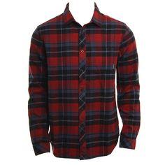 Billabong Mens Woven Henderson Flannel LS
