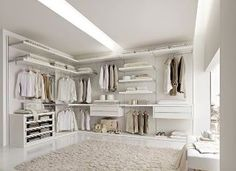White Walk In Closet 10 stylish walk-in bedroom closets | stylish bedroom, luxurious