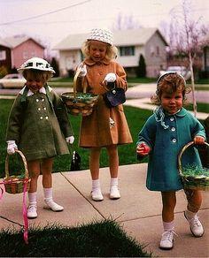 Vintage Easter #bonnets