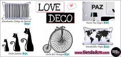 ¡Destacados de esta semana en #deco! ¡En blanco y negro para adaptarlos a cualquier ambiente!  ¿Y tu preferido de www.tiendadcm.com cuál es?