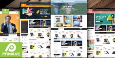 Primave - Responsive eCommerce HTML5 Template