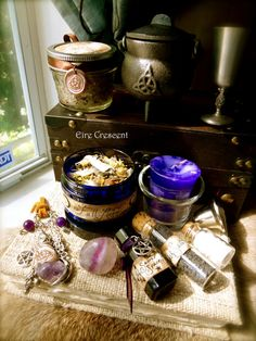 Full Moon Magic Witch or Pagan kit by EireCrescent on Etsy, $69.99