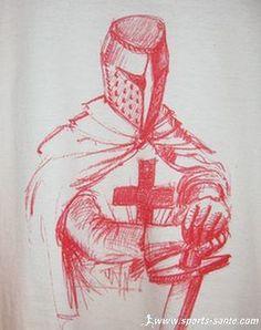 Templar Sketch in red
