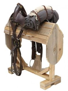 McClellan saddle, Model 1868 used during the Indian Wars