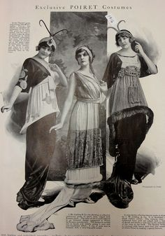 6-11-11  Poiret dress, on a real person - 1913