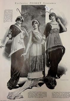 Poiret dresses - 1913