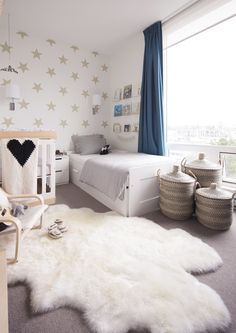 I am ridiculously excited to share our newest little clients' room, Rafael and Leonardo's shared baby and toddler boy room!!! Their gorgeous Mama contacted me when she was pregnant with her second baby in the hopes that we could maximize the space of her son's existing room to include the new