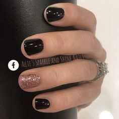 Color Street powder nails Midnight in Manhattan Belize Bellini Classy Nails, Fancy Nails, Pretty Nails, Stylish Nails, Ten Nails, Nagellack Design, Dipped Nails, Color Street Nails, Nagel Gel