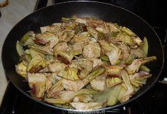 Ricetta carciofi e patate in padella