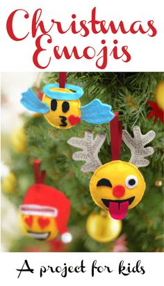 Christmas Emoji Ornaments TUTORIAL ~ Sew Different