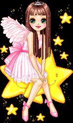 Glitter dolls
