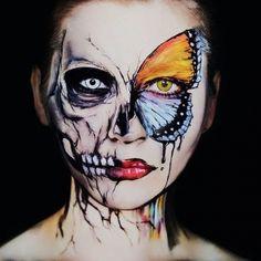 halloween hard makeup (7)