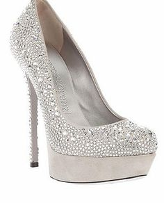 Gorgeous sparkly heels, you can't go wrong!