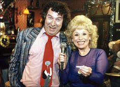 Nigel Bates and Peggy Mitchell