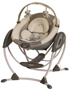 The Graco Glider LX Gliding Swing is intended to offers the equal relief as a nursery glider.