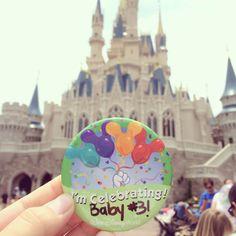Disney Themed Pregnancy Announcement. Celebrating Baby #3! ❤️