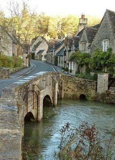 Castle Combe, England.  This is one of the most beautiful places we visited while in England and Scotland.
