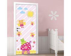 Φραουλόσπιτο και μελισσούλες ,αυτοκόλλητο πόρτας παιδικό Kids Rugs, Home Decor, Decoration Home, Kid Friendly Rugs, Room Decor, Interior Decorating