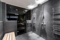 Grey toned bathroom