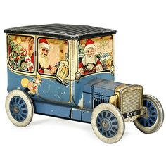 Biscuit Tin, English circa 1920