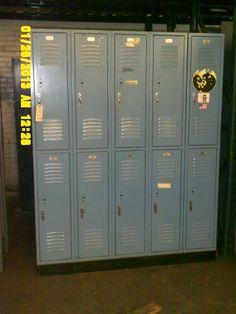 Used Republic Storage System Half Door Lockers w/ Base Lockers For Sale, Used Lockers, Door Locker, Half Doors, Personal Storage, Locker Storage, Base