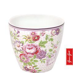 Greengate latte cup Cornelia plum