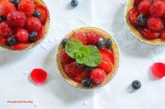 Tortinhas de Frutas que não vão ao forno e são super rápida de preparar.
