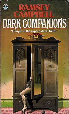 """Dark Companions"" by Ramsey Campbell. Great cover design."