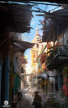 Alley from Assassin's Creed IV: Black Flag