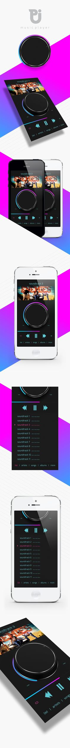 CONCEPT - i made this just for a concept for iOS music player. This project is just for my hobby work and i love to design this....