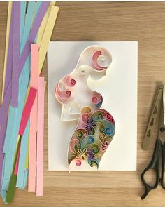 #repost @qll_art #paperquilling #inspiration