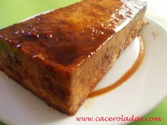 Caceroladas: Pudin de pan con nueces