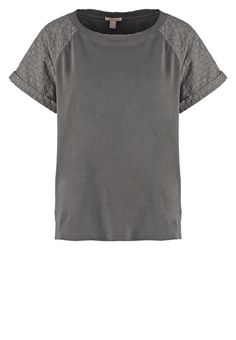 Esprit T-shirts basic - pebble grey - Zalando.dk
