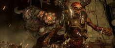 Download Wallpaper 2560x1080 Doom 4, Cyberdemon, Characters 2560x1080 21:9 TV HD Background