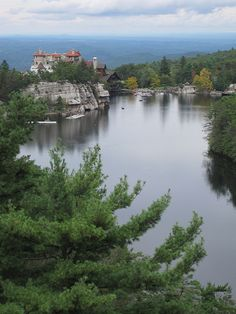 mohonk mountain house in Hudson Valley, New York State
