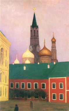 Felix Vallotton - View of the Kremlin in Moscow