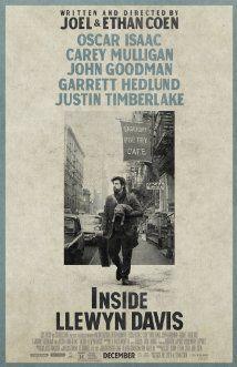 Inside Llewyn Davis - Coen brothers, soort Bob Dylan achtige sfeer, relax film