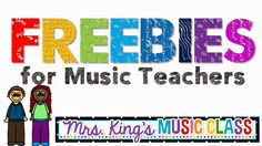 Mrs. King's Music Room: Music Freebies I Love!